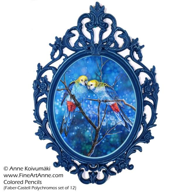 Blue Rosella Birds