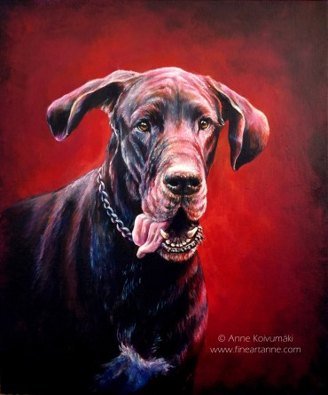 Rico The Great Dane - RIP